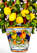 Albero di Limoni (Lemon Tree) Giclee (4 Sizes available)