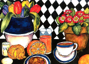 Breakfast Giclee (4 Sizes available)