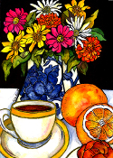 Coffee Break Giclee (4 Sizes available)