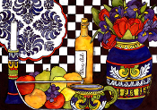 Italian Kitchen Art Tile