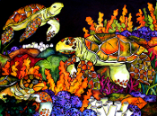 Turtle Bay Art Tile