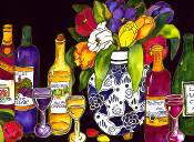 Wine Tasting Giclee (4 Sizes available)