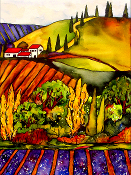 Tuscan Hills Giclee (3 Sizes available)