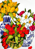 Try Tulips Art Tile