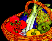 Market Basket Giclee (4 Sizes available)