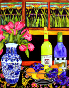 Stained Glass Still Life Giclee (4 Sizes available)