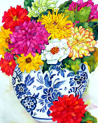 Fall Bouquet Giclee (4 Sizes available)