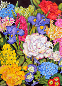 Les Fleurs One Giclee (4 Sizes available)