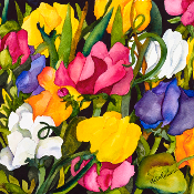 Sweet Peas Giclee (4 Sizes available)