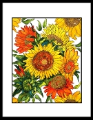Glorious Sunflowers Original