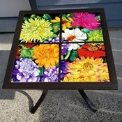 Dahlia Bliss Custom Table