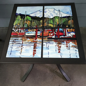 Peaceful Harbor Custom Table