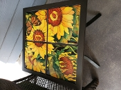 Girasolli (Sunflowers) Custom Table