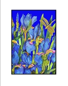 Blue Iris (Dk. Blue) Giclee (3 Sizes available)