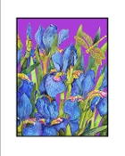 Blue Iris (Purple) Giclee (3 Sizes available)