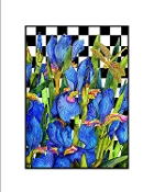 Blue Iris Checked Giclee (3 Sizes available)